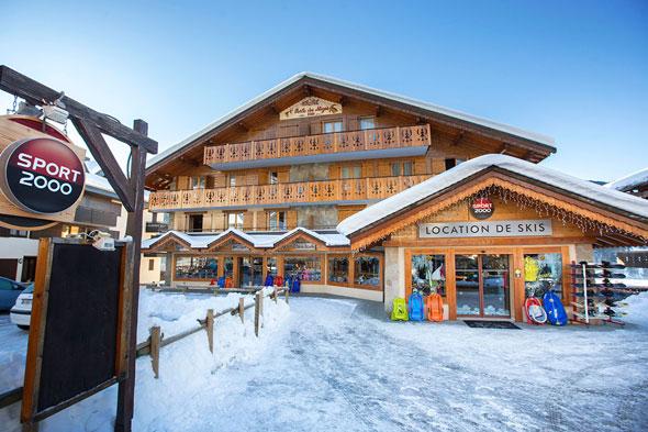 Location ski la chapelle d'abondance